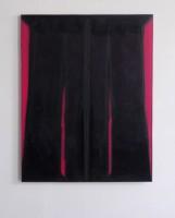 140x110cm acrylic oil velvet
